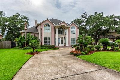 Destrehan, St. Rose Single Family Home For Sale: 120 Oak Manor Lane