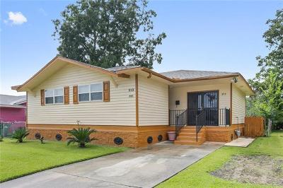Westwego Single Family Home For Sale: 213 Travis Drive