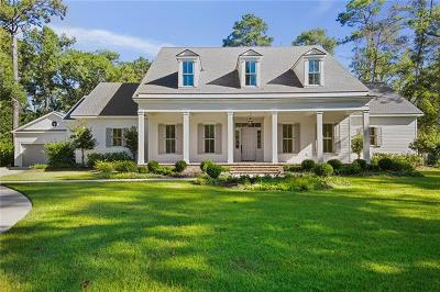 Covington LA Single Family Home For Sale: $1,499,000