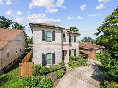 Metairie Single Family Home For Sale: 1302 Chickasaw Avenue