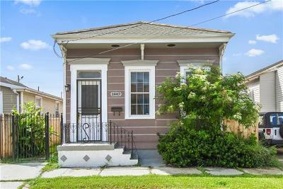 New Orleans Single Family Home For Sale: 1447 N Prieur Street