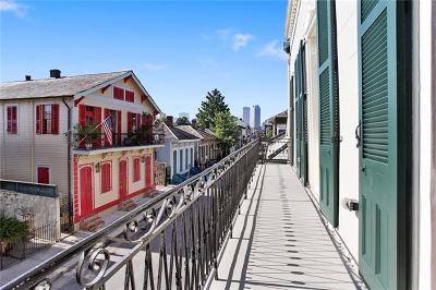 New Orleans Condo For Sale: 1225 Bourbon Street #E