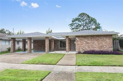 Metairie Single Family Home For Sale: 3808 Clifford Drive