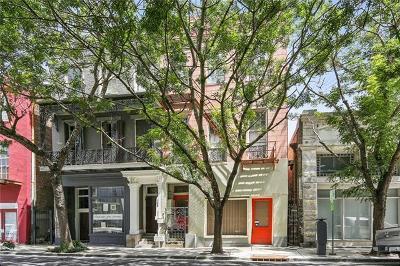 Single Family Home For Sale: 822 Baronne Street