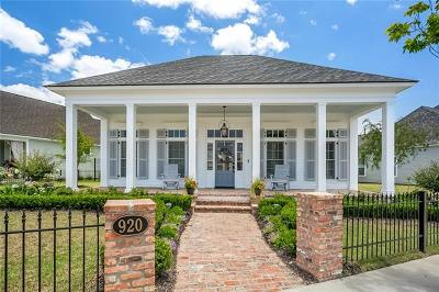 Covington Single Family Home For Sale: 920 Beauregard Parkway