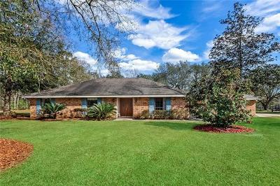 Slidell Single Family Home For Sale: 170 Branch Drive