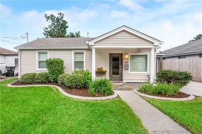River Ridge, Harahan Single Family Home For Sale: 557 Grove Avenue