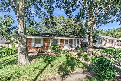 Metairie Single Family Home For Sale: 1208 Cardinal Avenue