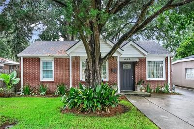 Single Family Home For Sale: 640 Oaklawn Drive