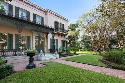 Single Family Home For Sale: 2520 Prytania Street