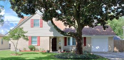 New Orleans Single Family Home For Sale: 3401 Hyman Place