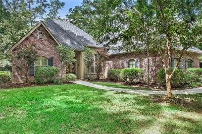 Madisonville Single Family Home For Sale: 118 Tchefuncte Parc Drive