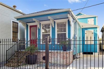 Single Family Home For Sale: 2116 Bienville Street