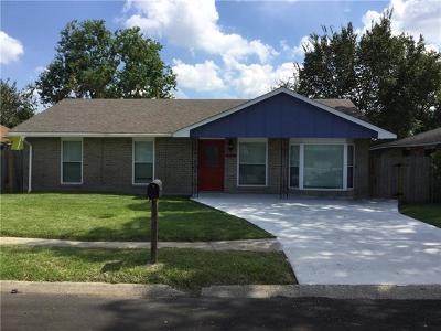 Marrero Single Family Home For Sale: 2053 Mather Drive