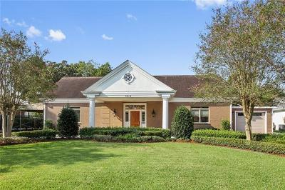 Gretna Single Family Home For Sale: 124 Meadowbrook Drive
