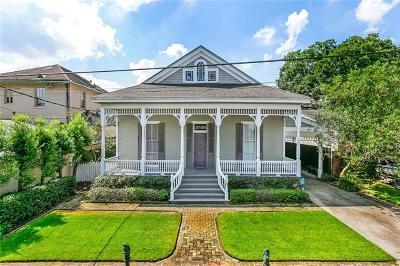 New Orleans Single Family Home For Sale: 7030 Coliseum Street