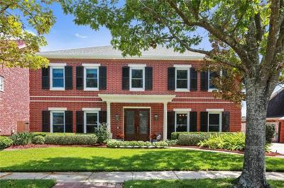 Kenner Single Family Home For Sale: 24 Monte Carlo Drive