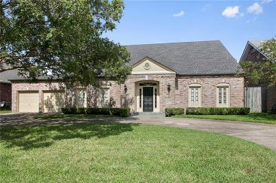 River Ridge, Harahan Single Family Home For Sale: 8705 Chretien Point Place