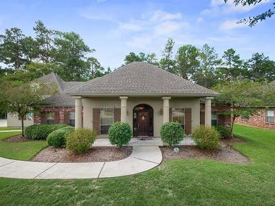 Mandeville Single Family Home For Sale: 3067 Hill Court