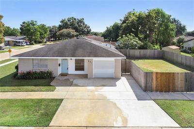 Single Family Home For Sale: 601 Spartan Lane