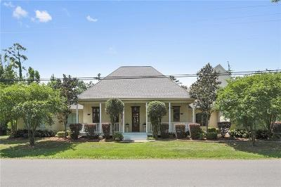 Mandeville Single Family Home For Sale: 175 Magnolia Street