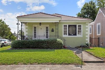 Single Family Home For Sale: 4639 Frenchmen Street