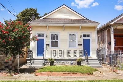 Jefferson Parish, Orleans Parish Multi Family Home For Sale: 2116-18 Valmont Street