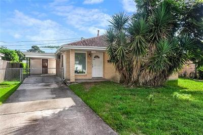 Metairie Single Family Home For Sale: 1917 Frankel Avenue