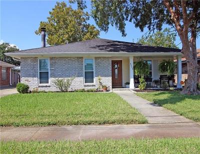 Kenner Single Family Home Pending Continue to Show: 4213 Arizona Avenue