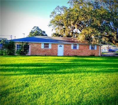 Marrero Single Family Home For Sale: 5300 Ehret Road
