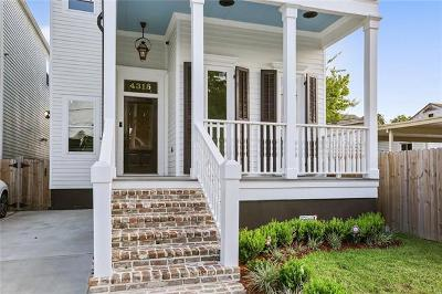 New Orleans Single Family Home For Sale: 4315 Freret Street