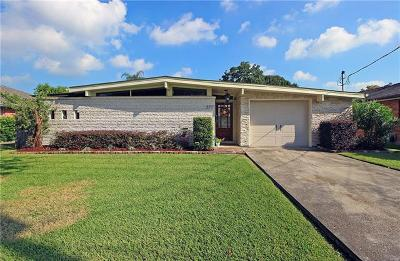 Metairie Single Family Home Pending Continue to Show: 3717 45th Street