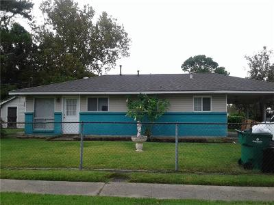 Westwego Single Family Home For Sale: 8 Sarah Street