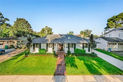 Metairie Single Family Home Pending Continue to Show: 2708 Margie Street