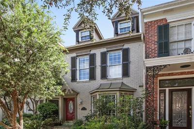Kenner Townhouse For Sale: 3 Rue St Louis Drive