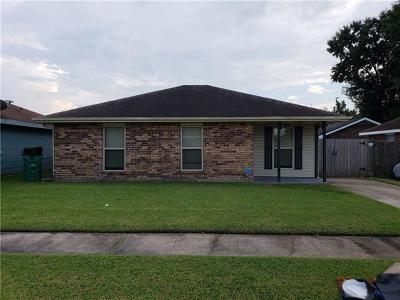 Marrero Single Family Home For Sale: 2513 Jeanne Drive