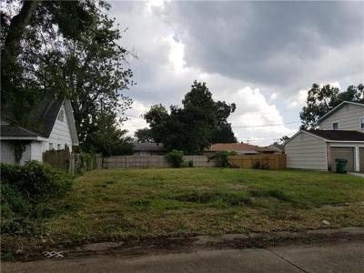 Metairie Residential Lots & Land For Sale: 2601 Winifred Street