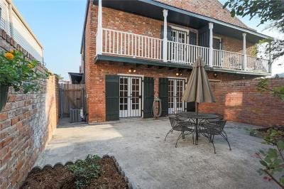 Metairie Townhouse For Sale: 106 Lilac Street