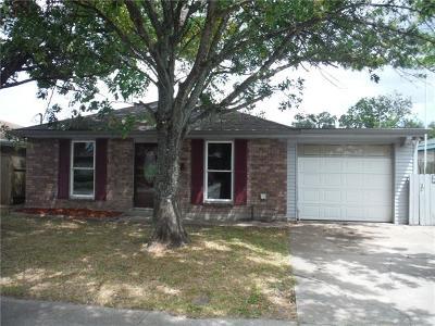 Single Family Home For Sale: 1137 Saint Ann Street