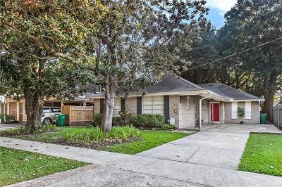 Metairie Single Family Home For Sale: 1133 Helios Avenue