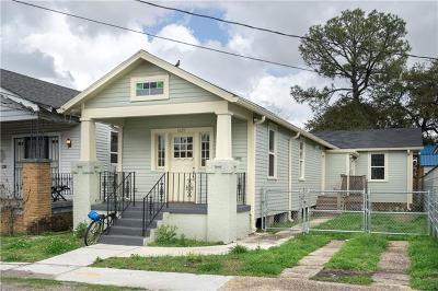 Single Family Home For Sale: 1829 Mandeville Street