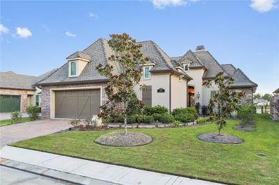 Covington Single Family Home For Sale: 455 N Corniche Du Lac Drive