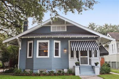 New Orleans Single Family Home For Sale: 2417 Audubon Street