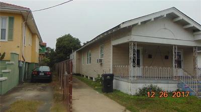 New Orleans Multi Family Home For Sale: 4223 S Johnson Street