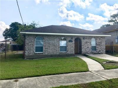 New Orleans Single Family Home For Sale: 7721 Poitevent Street