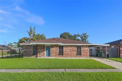 Marrero Single Family Home For Sale: 2832 Victoria Drive
