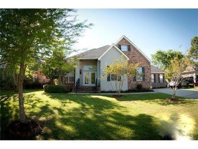 Slidell Single Family Home For Sale: 40 Oak Tree Drive