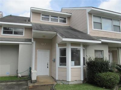 Jefferson Parish, Orleans Parish Condo For Sale: 97 Lake Lynn Drive #.