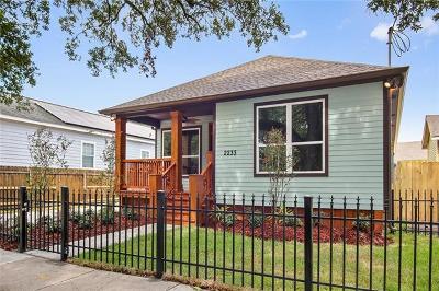 Single Family Home For Sale: 2233 St Bernard Avenue