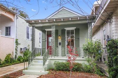Single Family Home For Sale: 4913 Camp Street